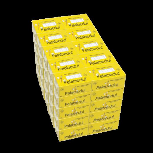 palillos redondos enfundados papel