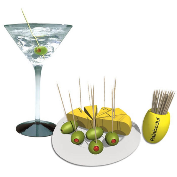 cocktail palillos palabedul